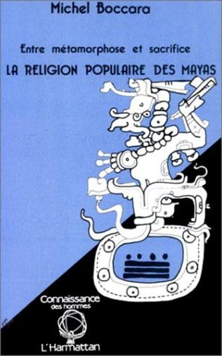 Couverture La religion populaire des Mayas