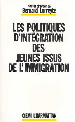 Couverture Les politiques d'intégration des jeunes issus de l'immigration