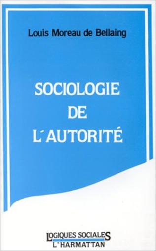 Couverture Sociologie de l'autorité