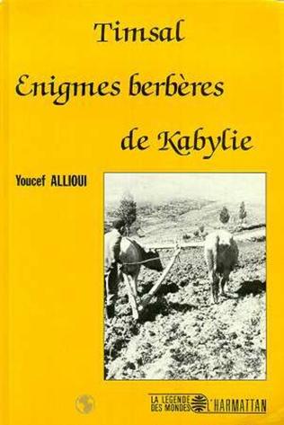 Couverture Timsal - Enigmes berbères de Kabylie