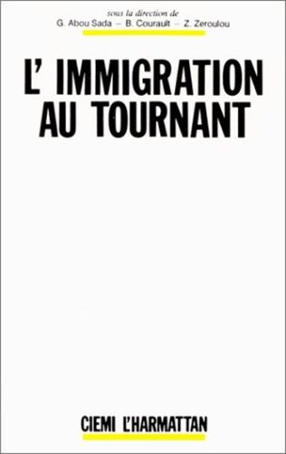 Couverture L'immigration au tournant