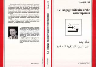 Couverture Le langage militaire arabe contemporain