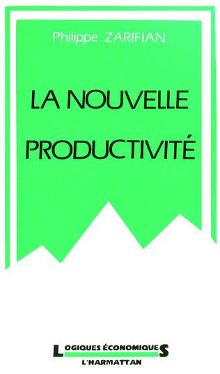 Couverture La nouvelle productivité