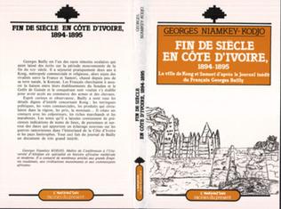 Couverture Fin de siècle en Côte d'Ivoire (1894-1895)
