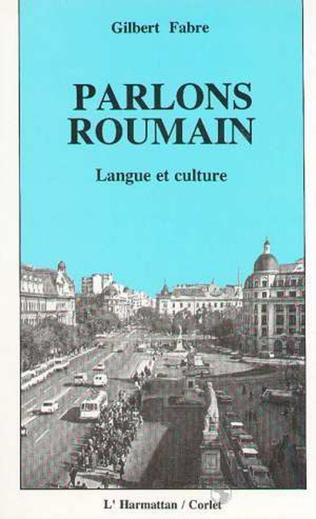 Couverture Parlons roumain