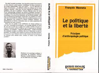 Couverture Le politique et la liberté
