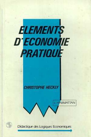 Couverture Eléments d'économie pratique