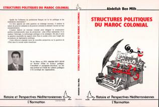 Couverture Structures politiques du Maroc colonial