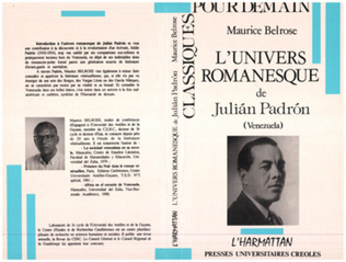 Couverture L'univers romanesque de Julian Padron