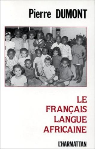 Couverture Le français langue africaine