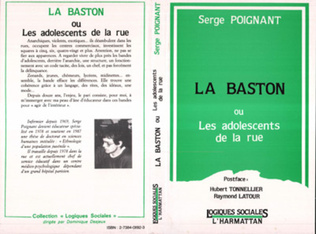 Couverture La Baston ou les adolescents de la rue