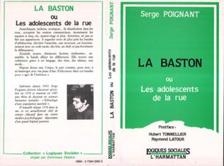 Couverture La Baston ou les adolescents de la rue
