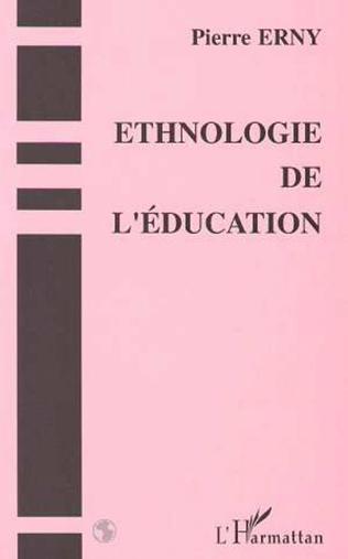 Couverture Ethnologie de l'éducation