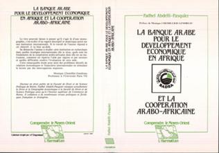 Couverture La banque arabe pour le développement économique