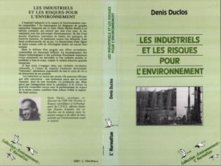 Couverture Les industriels et les risques pour l'environnement