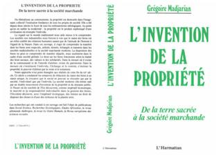 Couverture L'invention de la propriété