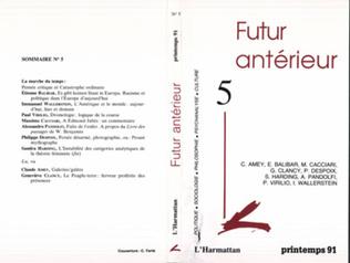 Couverture Futur Antérieur 5