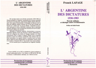 Couverture L'Argentine des dictatures 1930 - 1983