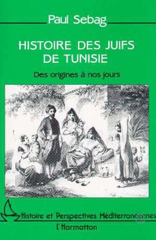 Couverture Histoire des Juifs de Tunisie
