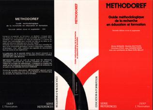 Couverture Méthodoref