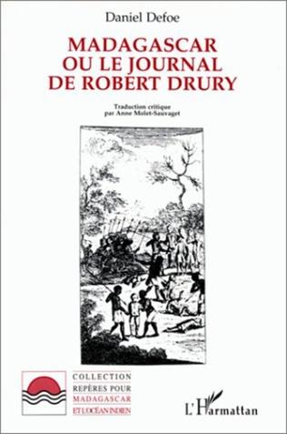 Couverture Madagascar ou le journal de Robert Drury