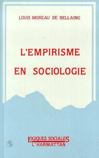 Couverture L'empirisme en sociologie
