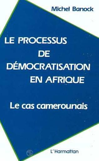 Couverture Le processus de démocratisation en Afrique