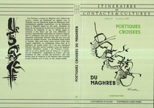 Couverture Poétiques croisées du Maghreb