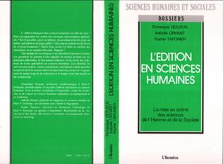 Couverture L'édition en sciences humaines
