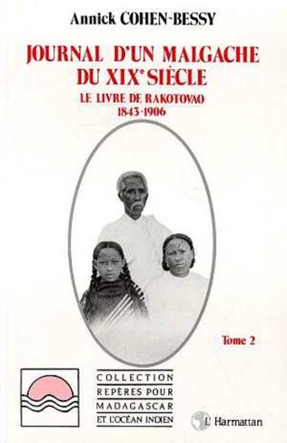 Couverture Journal d'un Malgache du XIXè siècle