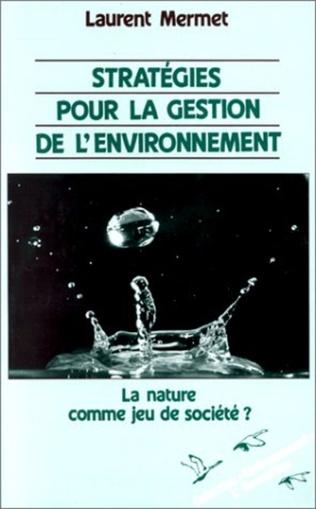 Couverture Stratégies pour la gestion de l'environnement