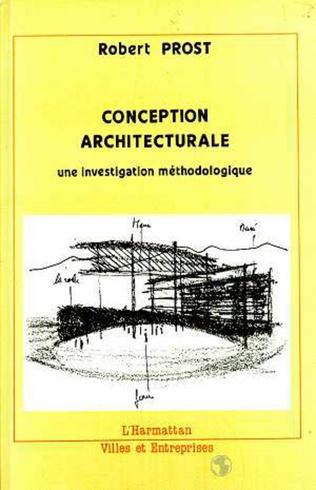 Couverture La conception architecturale
