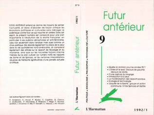 Couverture Futur Antérieur 9