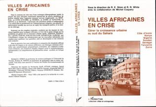 Couverture Villes africaines en crise