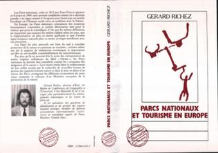 Couverture Parcs nationaux et tourisme en Europe