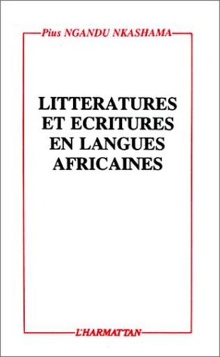 Couverture Littératures et écritures en langues africaines