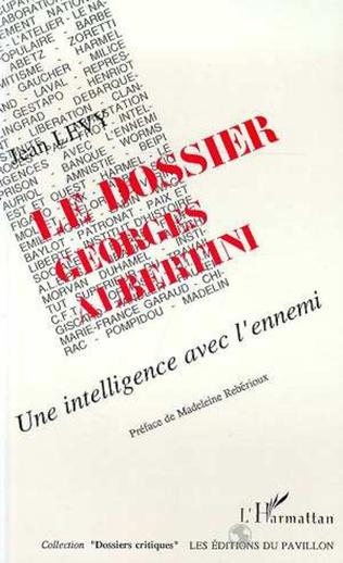 Couverture Le dossier Georges Albertini
