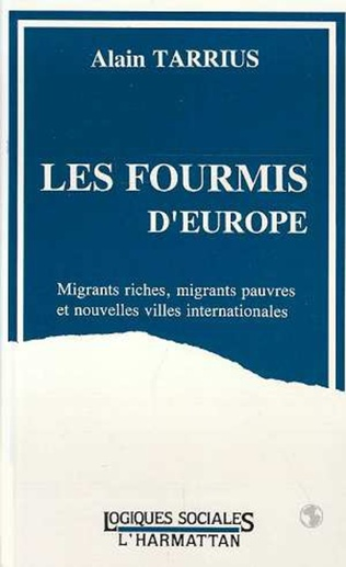 Couverture Les fourmis d'Europe
