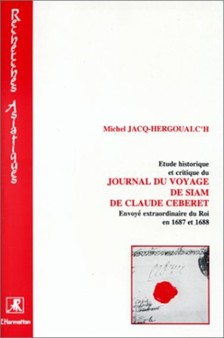 Couverture Etude historique et critique du journal du voyage de Siam de Cébéret