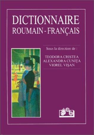 Couverture Dictionnaire roumain-français