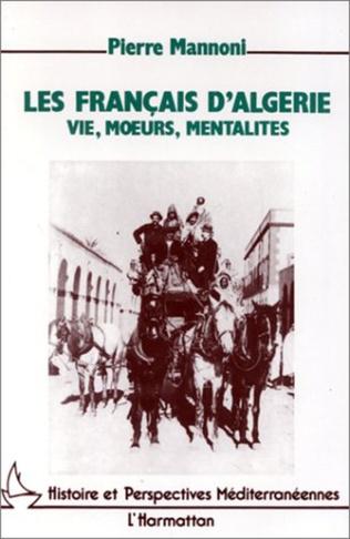 Couverture Les Français d'Algérie