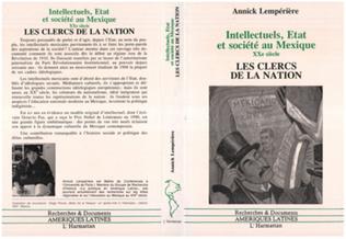 Couverture Intellectuels, Etat et Société au Mexique