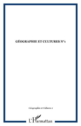 Couverture Géographie et Cultures n°1