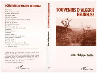 Couverture Souvenirs d'Algérie heureuse