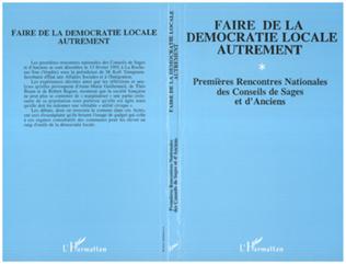 Couverture Faire de la démocratie locale autrement
