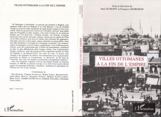 Couverture Villes ottomanes à la fin de l'Empire