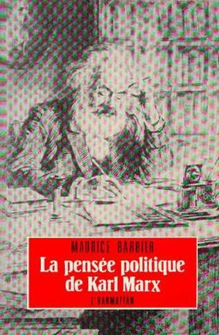 Couverture La pensée politique de Karl Marx