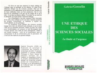 Couverture Une éthique des sciences sociales