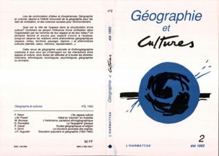 Couverture Géographie et Cultures n°2