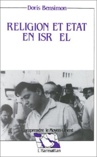 Couverture Religion et état en Israël